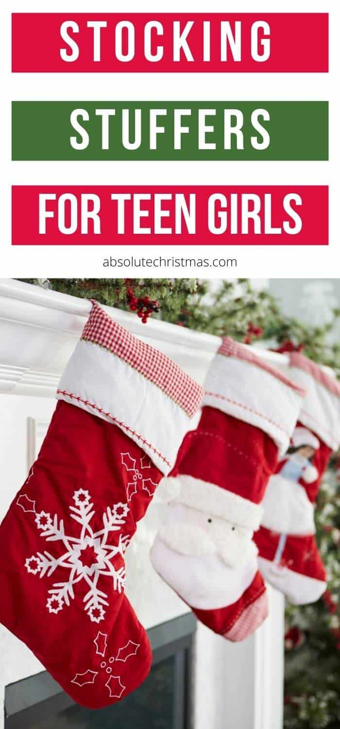 Best Stocking Stuffers for Teen Girls - Teenage Girl Stocking Ideas