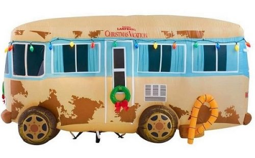 Christmas Vacation Uncle Eddie's RV Christmas Inflatable