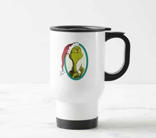 Dr. Seuss The Grinch Travel Mug