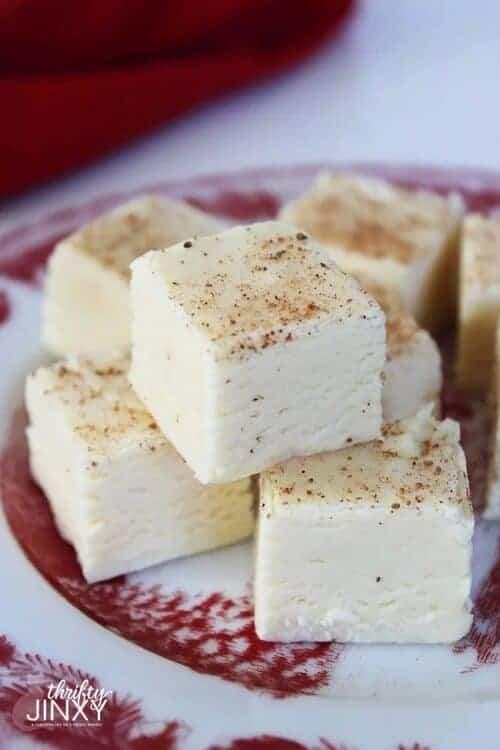 Eggnog Fudge Recipe