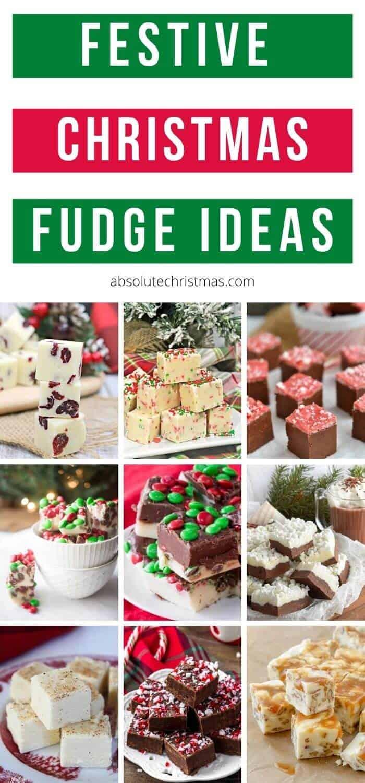 Festive Christmas Fudge Recipes