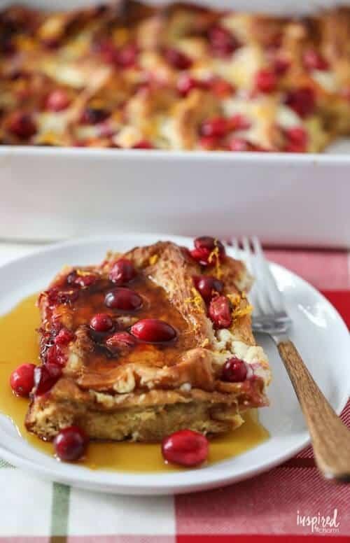 Mascarpone Cranberry French Toast Recipe