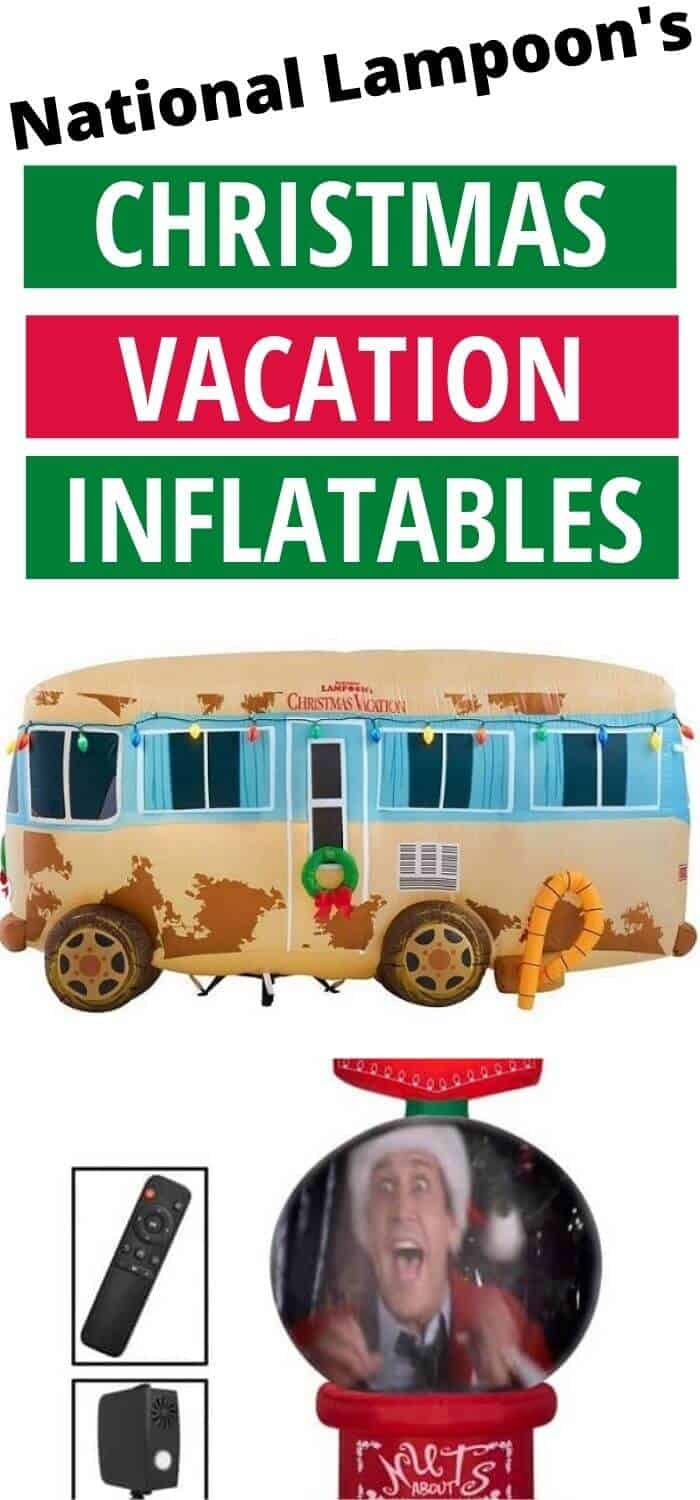 National Lampoons Christmas Vacation Inflatables