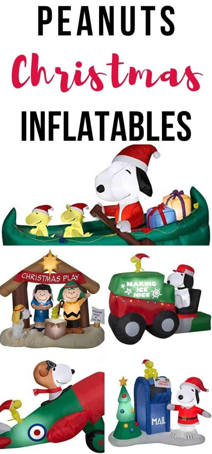 Peanuts Christmas Inflatables