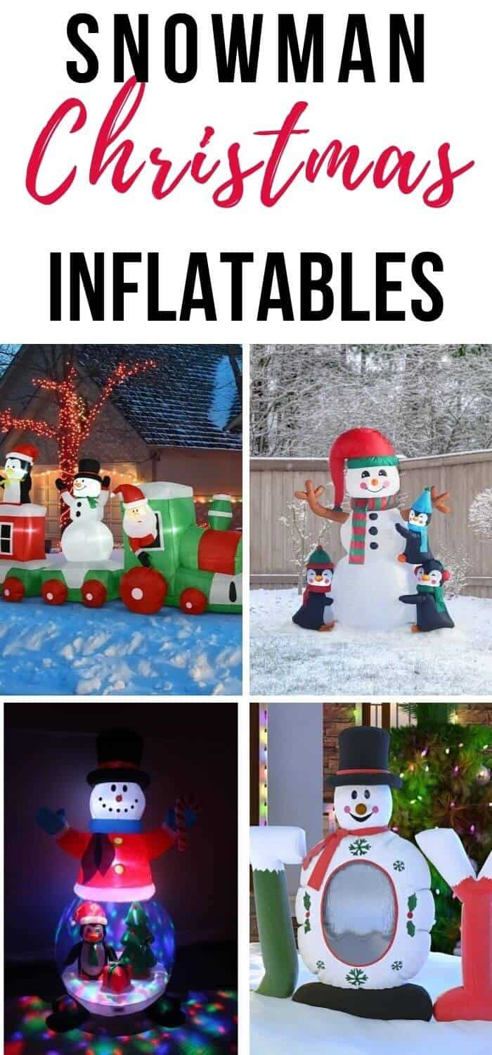 Snowman Christmas Inflatables