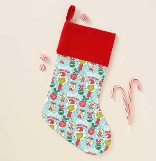 The Grinch Christmas Stockings