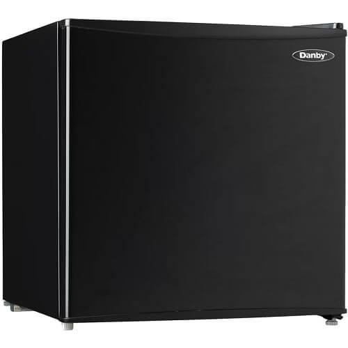 1.6 cu. ft. Freestanding Mini Fridge with Freezer