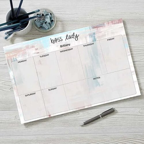 Boss Lady 11x17 Weekly Planner