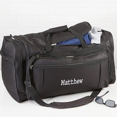 Deluxe Weekender Embroidered Duffel Bag