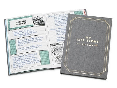 My Life Story - So Far - Personalized Gifts for Him