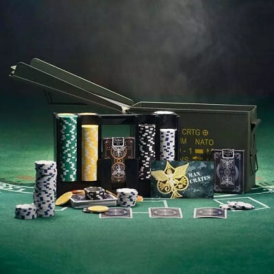 Ammo Can Poker Set