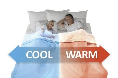 Bed Jet Dual Zone Climate Comfort Control for Couples