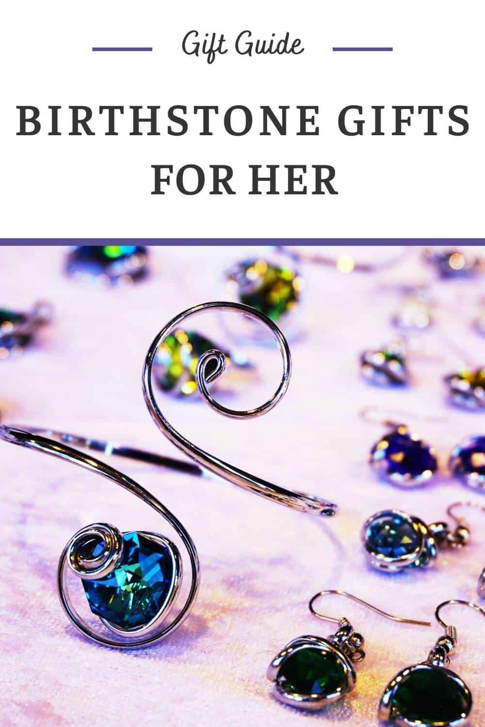 Birthstone Gifts for Her - Gemstone Gifts by Month