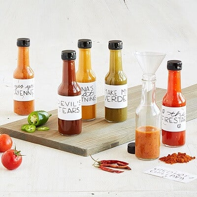 Make Your Own Hot Sauce Kit - Unique Gifts for Men