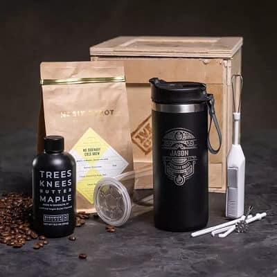 On The Go Coffee Crate - Unique Gifts for Men