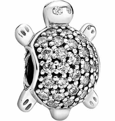 Pandora Passions Sea Turtle CZ Charm