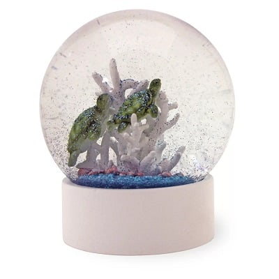 Sea Turtles Snow Globe - Gifts for Turtle Lovers