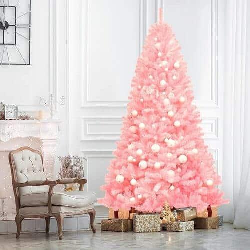 7.5 ft. Cherry Blossom Pink Christmas Tree