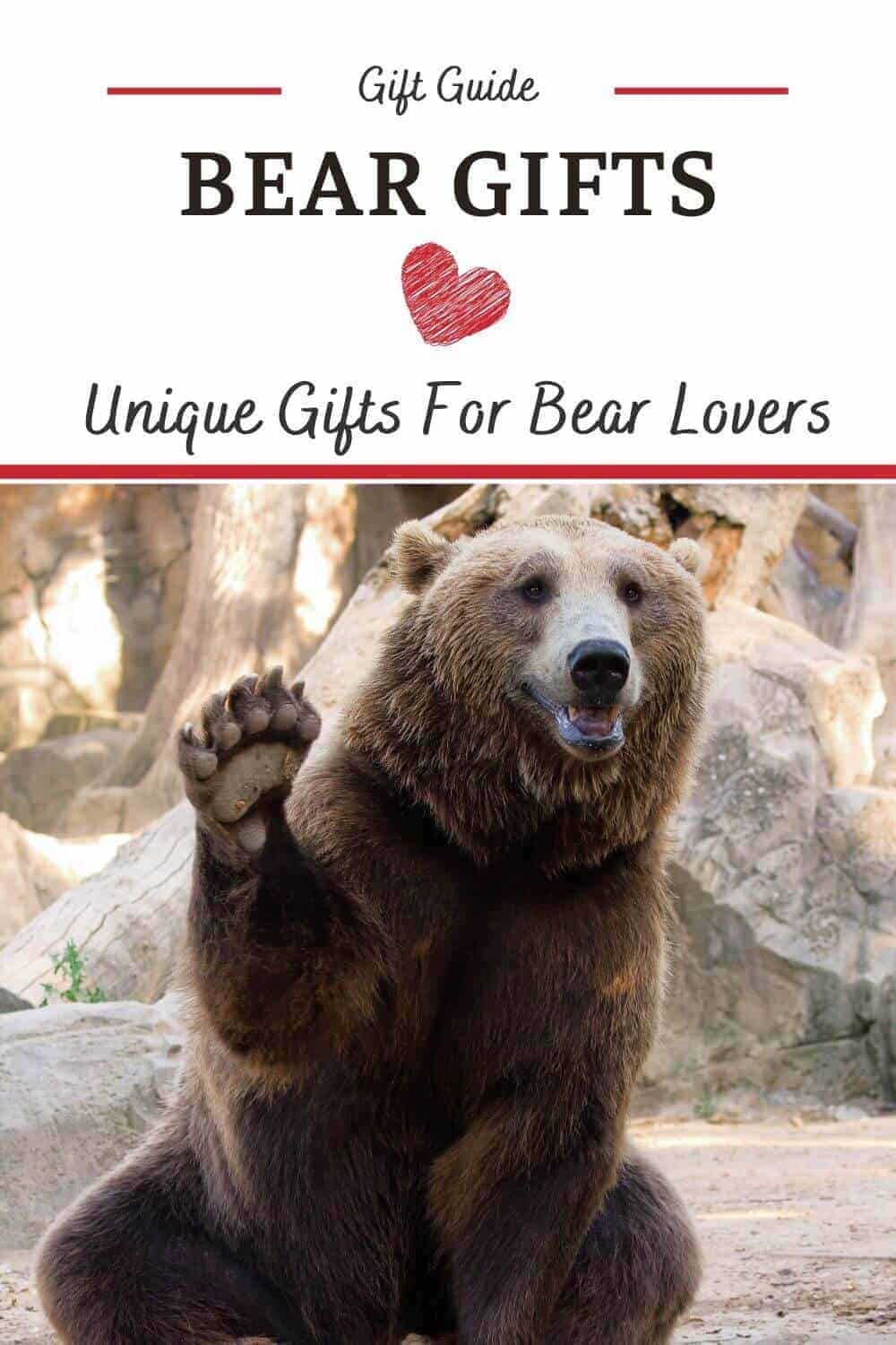 Bear Gifts for Bear Lovers