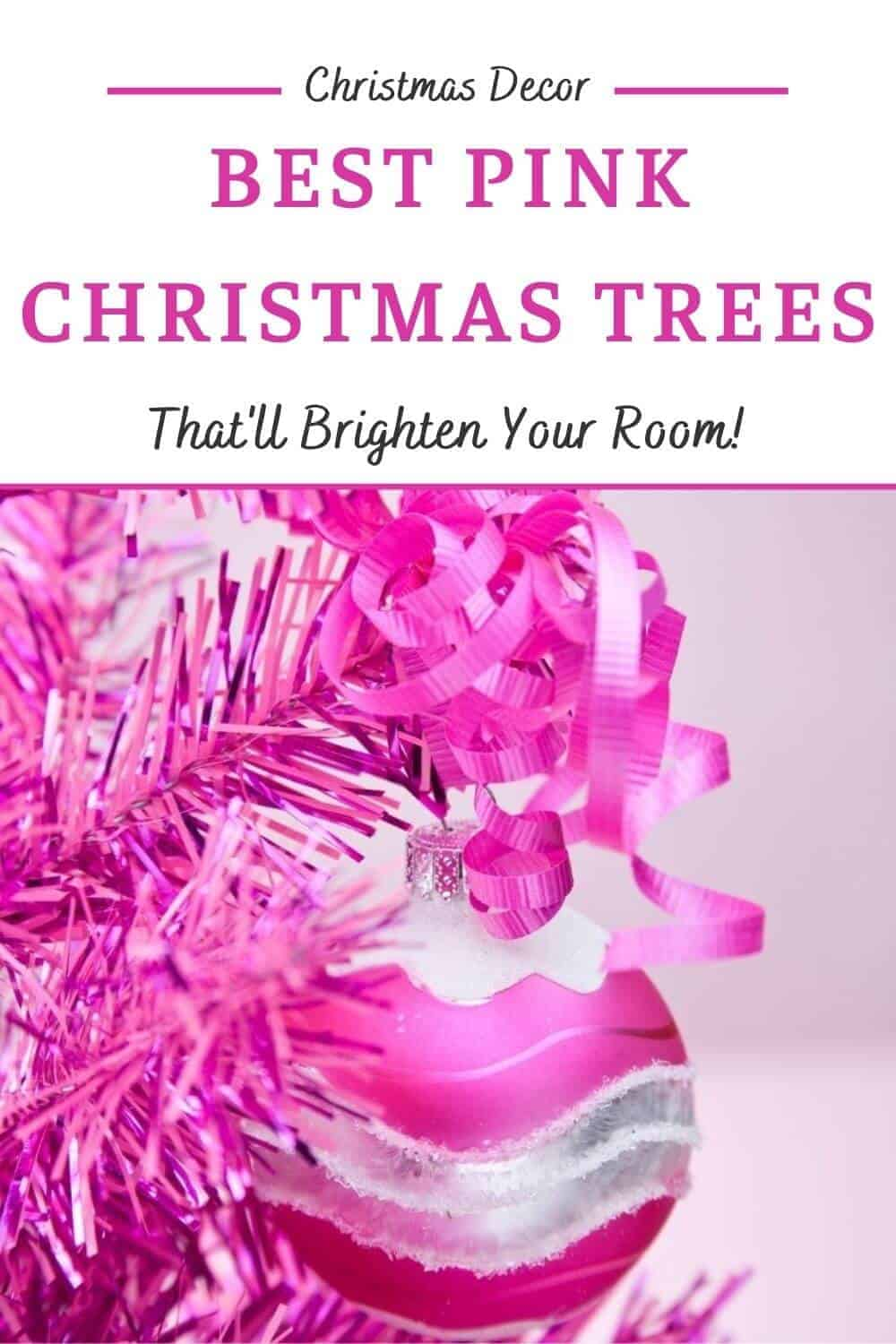 Best Pink Christmas Trees