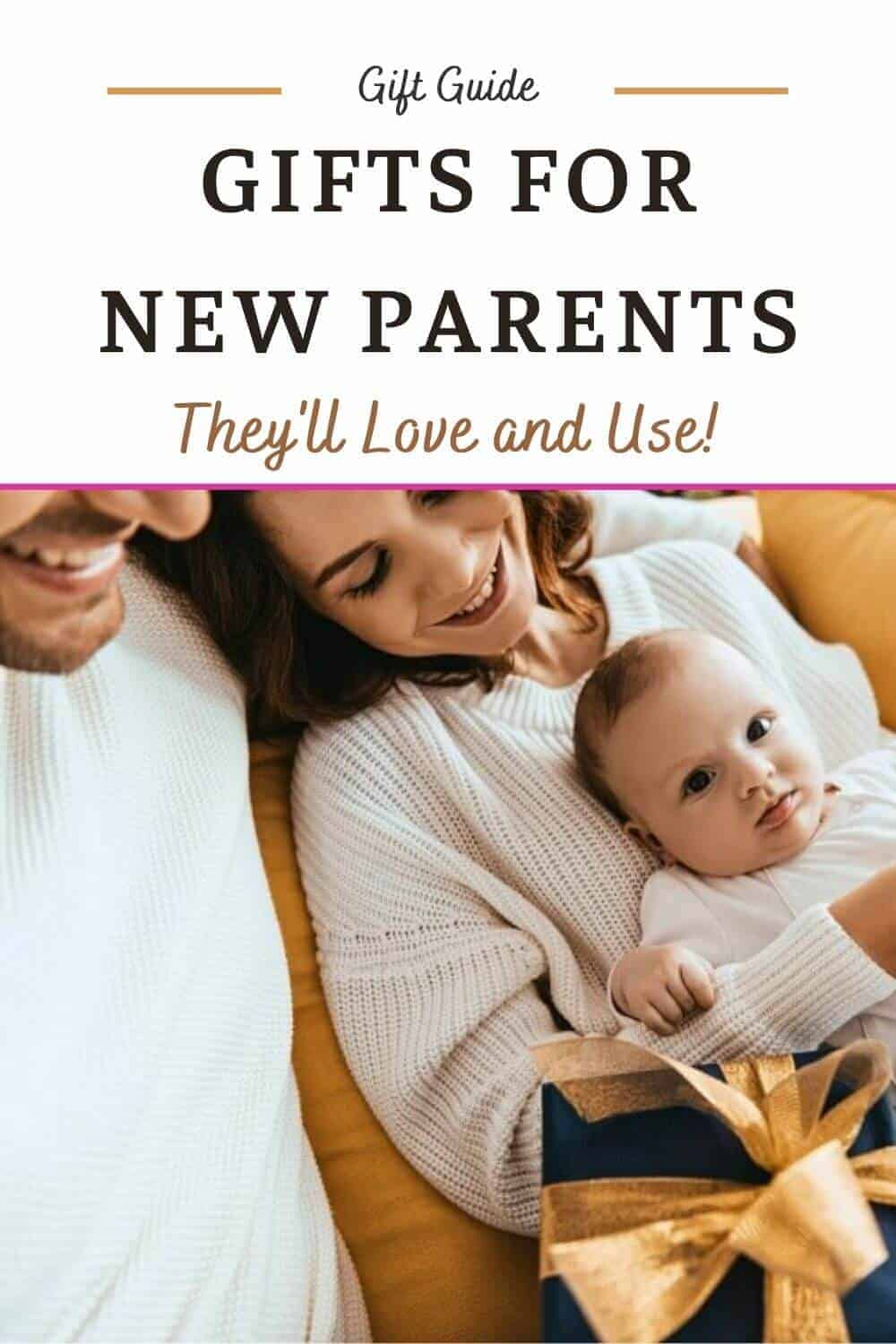 Gifts for New Parents - First Time Parents Gift Ideas