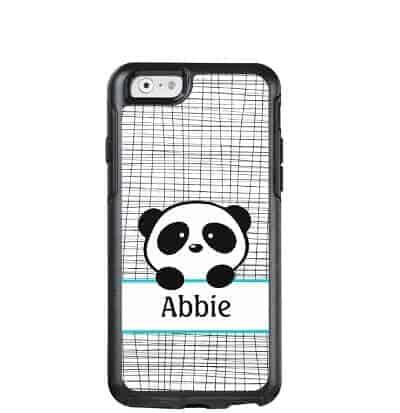 Panda Bear Personalized OtterBox Phone Case