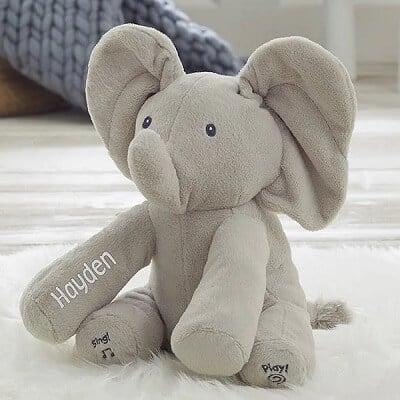 Personalized Flappy the Elephant Plush