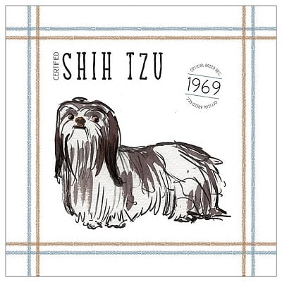 Personalized Shih Tzu Poem Pillow
