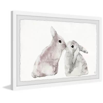 Sweet Bunnies Framed Art