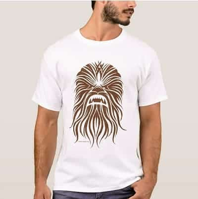 Chewbacca Brown Tribal T-Shirt