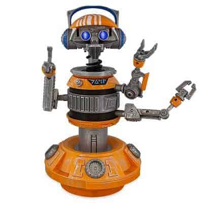 DJ R3X Interactive Remote Control Droid with Bluetooth Speaker
