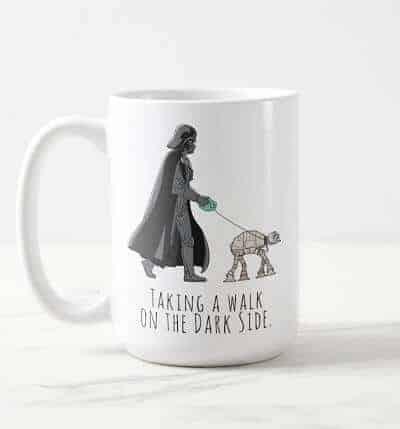 Darth Vader Walking Pet AT-AT Coffee Mug