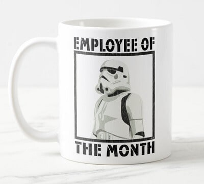Employee of the Month - Stormtrooper Coffee Mug