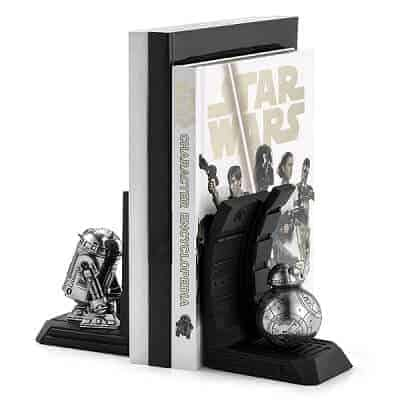 R2-D2 Pewter Bookends