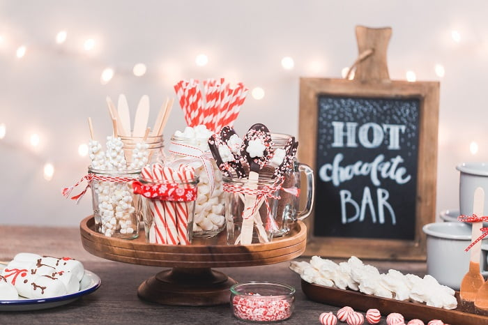 Christmas Eve Activities - Hot Chocolate Station