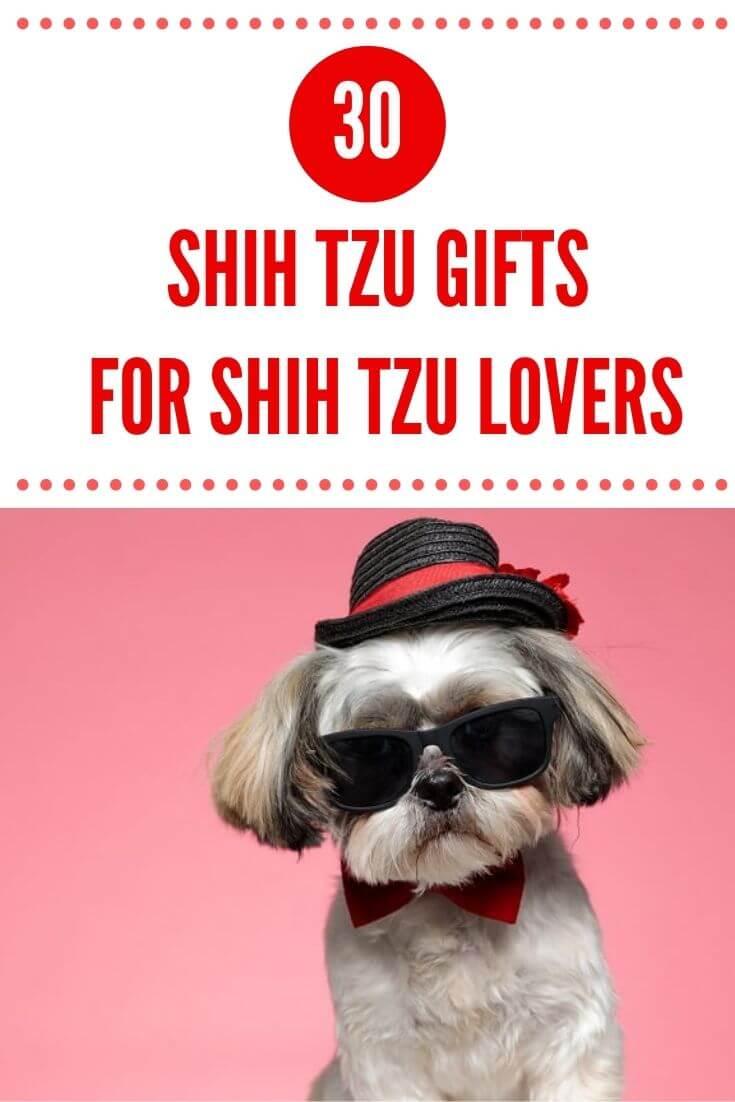 Cute Shih Tzu Gifts for Shih Tzu Lovers