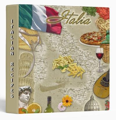 Italy Customizable Binder