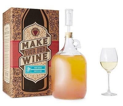 Pinot Grigio Wine Making Kit - Italian Gifts