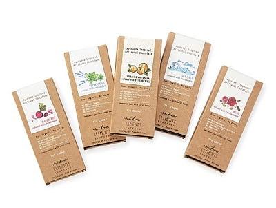Ayurveda-Inspired Chocolate - Set of 5