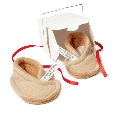 Baby Fortune Cookie Booties - Good Juju Gifts