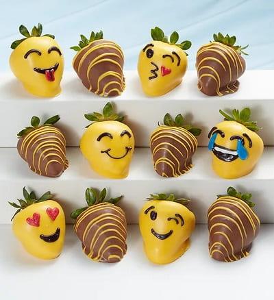 Emoticon Chocolate Strawberries