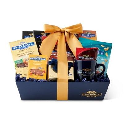 Ghirardelli Celebration Chocolate Gift Basket