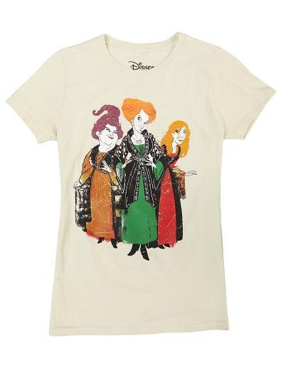 Hocus Pocus 3 Sisters T-Shirt for Women