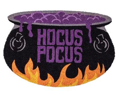 Hocus Pocus Cauldron-Shaped Door Mat
