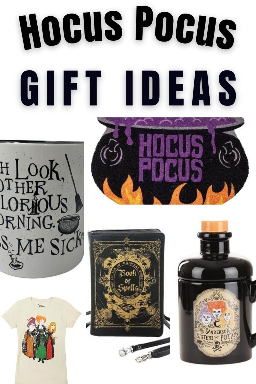 Hocus Pocus Gifts - Presents For People Who Love Hocus Pocus