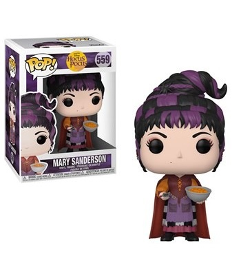 Hocus Pocus Mary Sanderson with Cheese Puffs Funko Pop