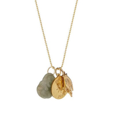 Jade Buddha Charm - Good Luck Gifts
