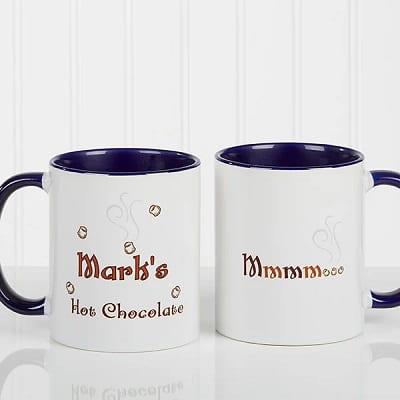 Mmmm... Personalized Hot Chocolate Mug