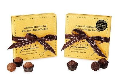 New York Honey & Whiskey Truffles - Gifts for Chocoholics