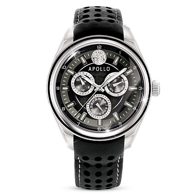 Apollo Moon Missions Collector's Edition Chronograph Watch